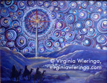 Advent Starry Night 2 (SOLD)