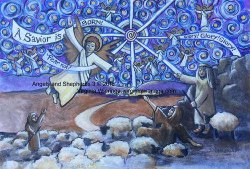 Angels and Shepherds 3
