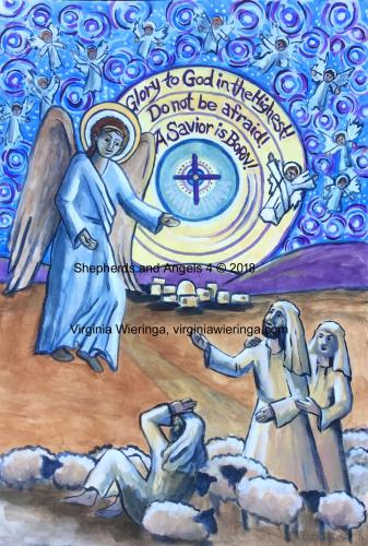 Angels and Shepherds 4